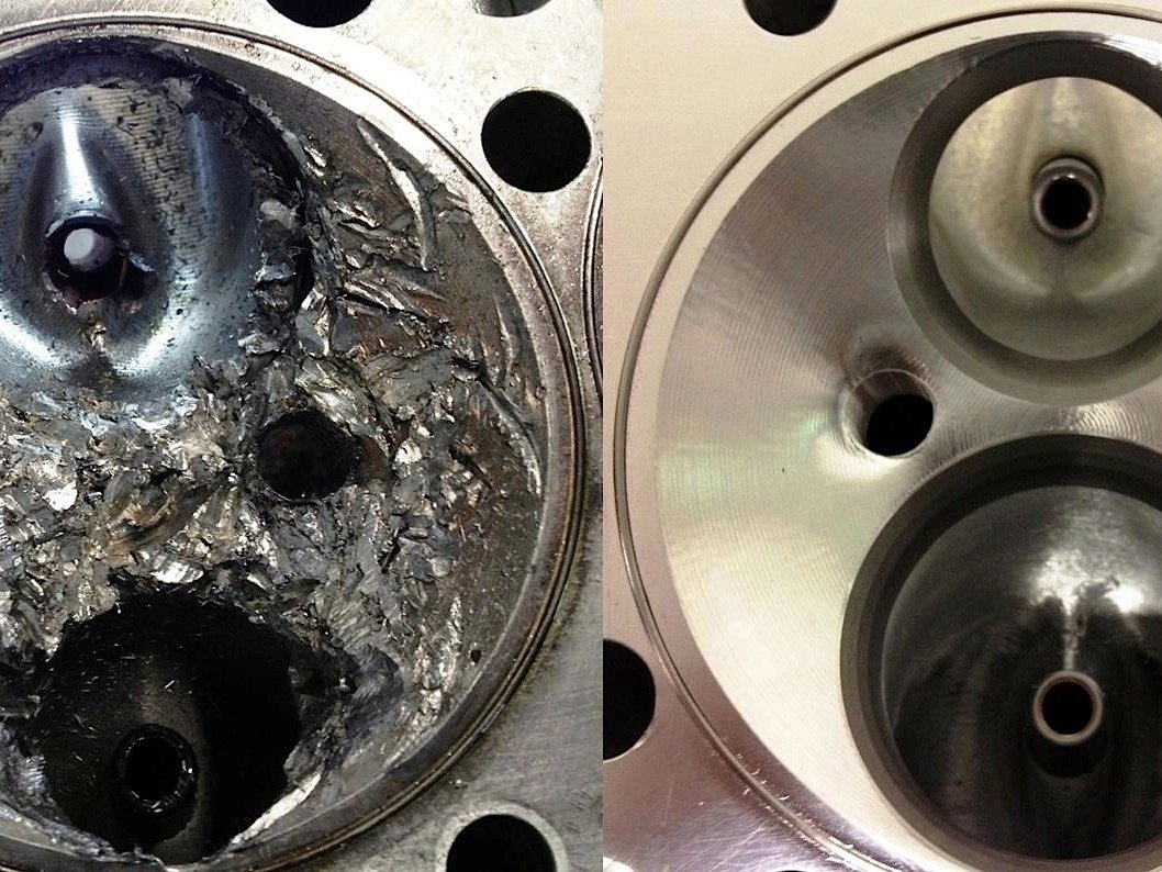 Cylinder Head Repair Fake Or Real You Be The Judge