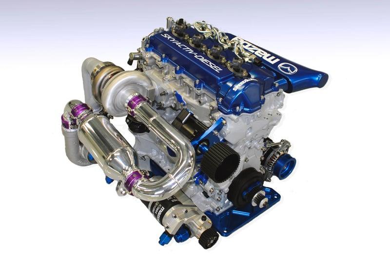 Video Mazda Skyactiv D Diesel Shows Off Compound Turbos
