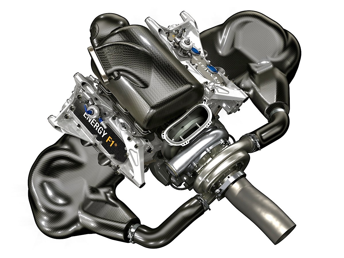 Renault S New F1 Engine Emphasizes Energy Recovery Fuel