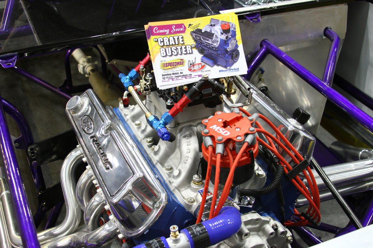 "PRI 2013: Speedway Motors Debuts The All-New ""Crate Buster"""