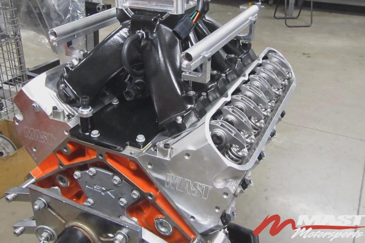 Video: Mast Motorsports Cranks Out Huge Power From 440 LSX Engine