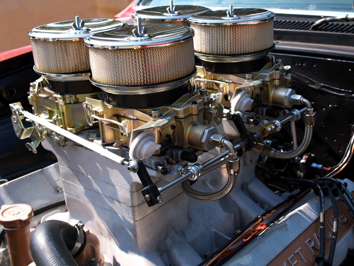 Olds With 4 Quadrajet Carbs Madness Or Hot Rodding At Its