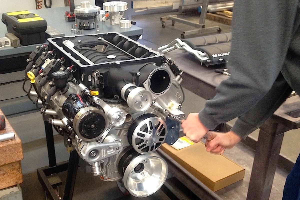 Concept One Kits Simplify Supercharger Installs On LS Engines