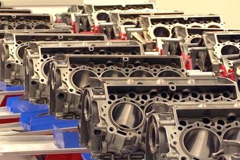 Video: RoushYates Assembles FR9 Engine; Also Wins 100th Cup Race