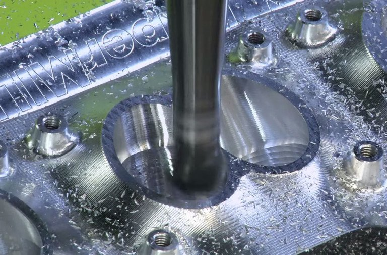 Video: Mesmerizing Footage Of Billet Cylinder Head Coming To Life
