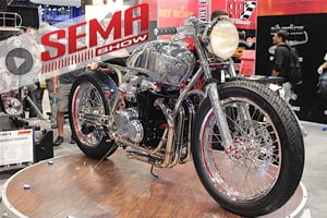 SEMA 2016: ARP And Fuller Moto Pull Off A Bike Full Of 3D Tattoos