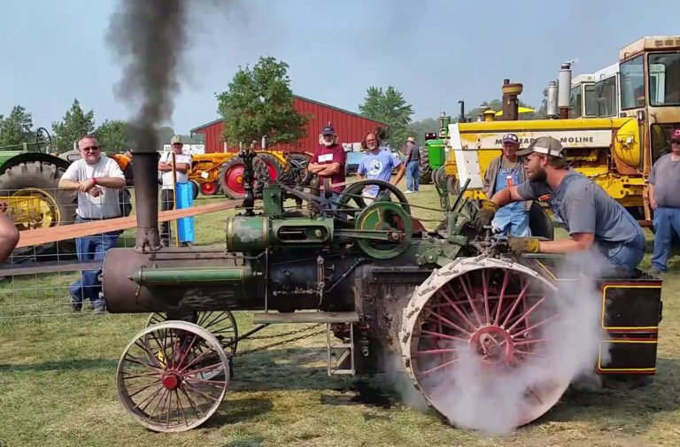 Video: Case Steam Tractor Hits The Dyno With 16 Horses