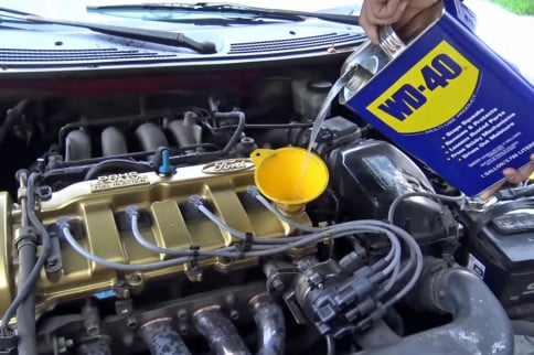 VIDEO: What Happens When You Run WD-40 As Engine Oil?