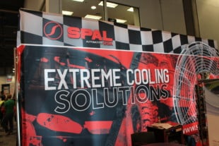 SEMA 2018 - SPAL Fans Are Super Cool, Literally...