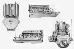 The World's Largest Inline Gasoline Engine Ever? The Sterling TCG-8