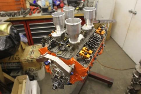 Little Spinner: Inside A Nitro-Burning 119ci V4 Small-Block Chevy