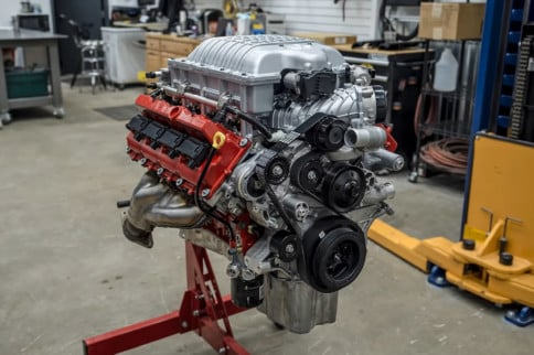 Video: Time-Lapse Engine Build Of 840-Horsepower Dodge Demon Hemi
