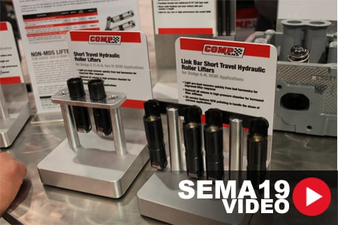SEMA 2019: COMP Cams Offers Gen-III HEMI Cam Packages