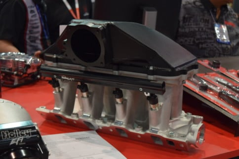 SEMA 2019: Holley Cast Hi-Ram Intake Manifold For 8.2-Deck SBF