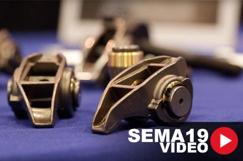SEMA 2019: Rock Out With PRW's Bushed LS Rocker Arms