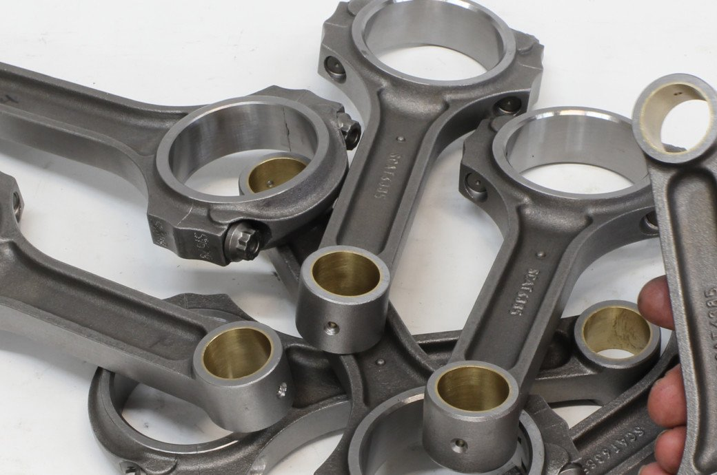 Connecting-Rod Selection Help From SCAT Crankshafts