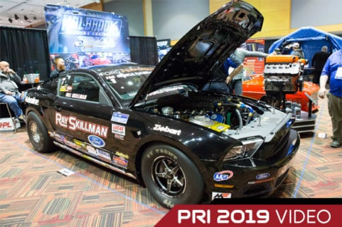 PRI 2019: Whipple Dominates With The Cobra Jet Mustang In 2019