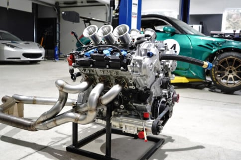 A Look Inside The Most Powerful N/A Nissan VQ-Series Engine Ever