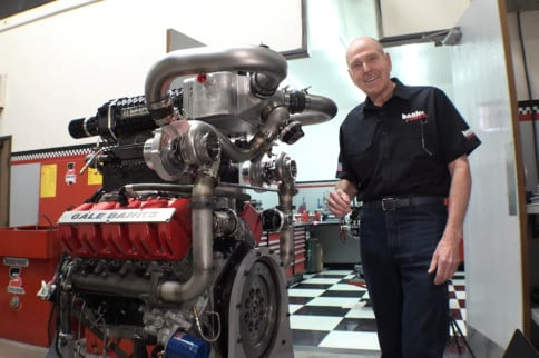 Building A Twin-Turbo Supercharged Monster Truck Engine With Banks