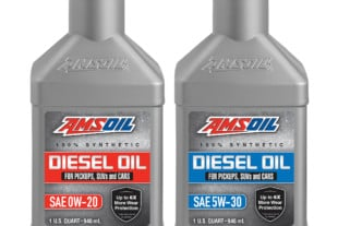AMSOIL Supports New Smaller, Half-Ton Diesels With Two New Oils!
