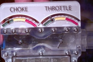 Video: Seeing Inside Of A Working Carburetor In Slow Motion